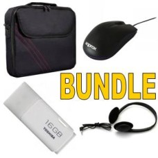 Laptop Bundle Deal - 15.6 Carry Case | Mouse | Headset | 16gb USB Flash drive