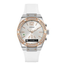 GUESS Connect Smartwatch - White Rose