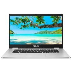 GradeB - ASUS C523 15.6in Silver Chromebook - Intel Celeron N3350 4GB RAM 64GB eMMC Chrome OS