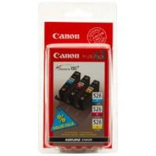Canon CLI-526 Multi Pack Cyan/Magenta/Yellow Ink Cartridges