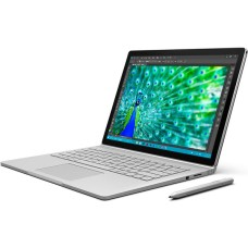 "GradeB - MICROSOFT Surface Book with Performance Base - Intel® Core™ i7-6600U Processor 16GB RAM 512GB SSD NVIDIA® GeForce® 965M 13.5"" Ultra HD PixelSense Touchscreen Windows 10 Pro - Silver"