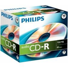 Philips CD-R Audio 80 Minute Jewel Case 10 Pack - CR7A0NJ10/00
