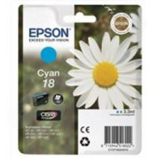 Epson Daisy 18 Series T1802 Cyan Ink Cartridge (Yield 180 Pages) RS Blister for Expression Home XP-102 Inkjet Printer