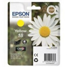 Epson Daisy 18 Series T1804 Yellow Ink Cartridge (Yield 180 Pages) RS Blister for Expression Home XP-102 Inkjet Printer