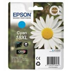 Epson Daisy 18XL Series T1812 Cyan Ink Cartridge (Yield 450 Pages) RS Blister for Expression Home XP-102 Inkjet Printer