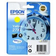 Epson Alarm Clock 27XL DURABrite Ultra Ink Cartridge (Yellow) Blister for WorkForce WF-3620DWF/WF-7610DWF/WF-3640DTWF/WF-7620DTWF/WF-7110DTW Printers