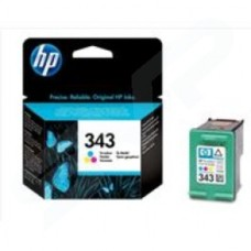 HP No.343 Tri-Colour Ink Cartridge (7ml) for DeskJet 5740/DeskJet 5740xi/DeskJet 6840 printers