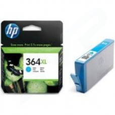 HP No.364XL Photosmart (Cyan) Ink Cartridge (Yield 750 Pages) with Vivera Ink