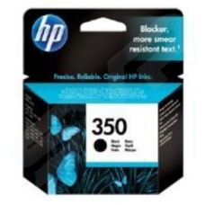 HP No.350 Black Inkjet Print Cartridge with Vivera Ink