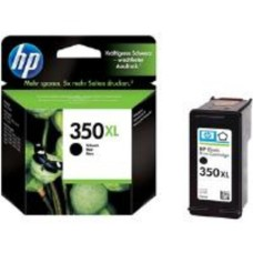 HP No.350XL Black Inkjet Print Cartridge with Vivera Ink
