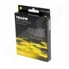 IJ Compatible Brother LC980 1100Y Yellow