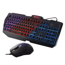Sumvision Nemesis Kane Pro II LED Multi-Colour Backlit Gaming Keyboard + Mouse Set