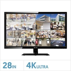 "QVIS 28"" ULTRA HD 4K  LED monitor"