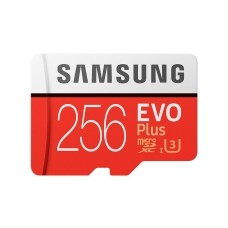 Samsung EVO 256gb Micro SD card with Adaptor - MicroSDXC UHS-I U3 | Class10