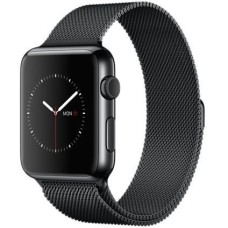 APPLE Watch 42 mm Milanese Loop - Space Grey & Black