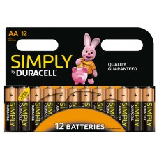 Duracell Simply AA Batteries (Pack 12)