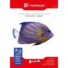 MIRROR A3 GLOSS DOUBLE SIDE A3 PAPER - 20 PACK - MP180PGDSA3
