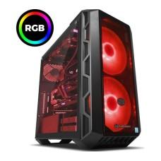 GradeB - PC SPECIALIST Vortex XE Gaming PC - Intel i9-9900K (Unlocked) 32GB RAM 2TB HDD + 512GB SSD RTX 2080 Ti x 2 - Windows 10