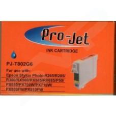 Pro-Jet Compatible Epson T0802 Cyan