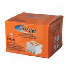 Projet Compatible 6 Colour Multipack Epson T0487 R300 Printer Cartridge Replaces Epson C13T04874010