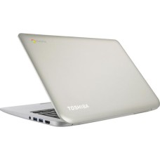 TOSHIBA CB30-B-103 13.3in Silver Chromebook 2 - Intel Celeron N2840 2GB 16GB eMMC Chrome OS
