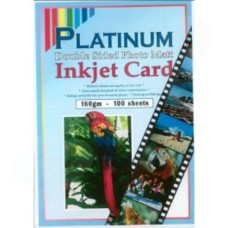 Platinum 160GSM  Double Sided Matt Photo Paper A4 -  100 sheets