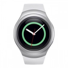 SAMSUNG Gear S2 Smartwatch - Silver - Phone Functionality / Health Monitoring