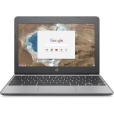 GradeB - HP 11-v051na 11.6in Grey Chromebook - Intel Celeron© N3060 4GB RAM 16GB eMMC - Chrome OS