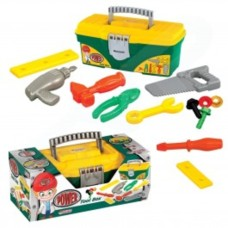 Kids Builder Tool Box Construction Kit Pretend Role Play Children DIY Set