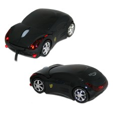 HiPoint CAR Optical USB Mouse - Black