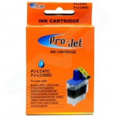 Pro-Jet Compatible Brother LC47 LC900 Cyan Inkjet Cartridge