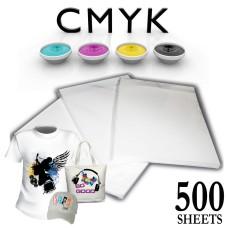 500 SHEETS A4 HIGH GRADE SUBLIMATION PAPER HEAT AND MUG PRESS TRANSFER 130GSM