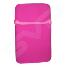 NEW 5.5 6 7 Inch Tablets HOT PINK Universal Soft Case Sleeve Cover Skin Pouch