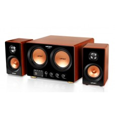 HiPoint 2.2 Channel Stereo Speakers with Subwoofer, Bluetooth, USB and Remote Control