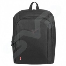 Techair Classic Backpack with Foam Protection (Black) for 15.6 inch Laptops