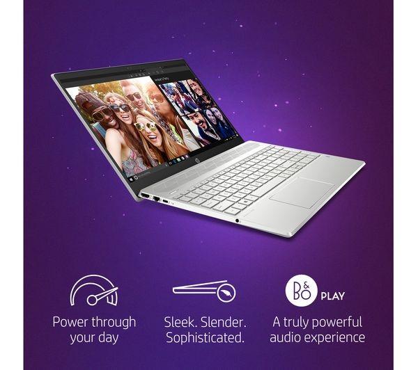 HP Pavilion 15-cw0505sa 15 6in Silver Laptop AMD Ryzen 3