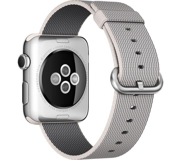 42mm Pearl Nylon Band for Apple Watch