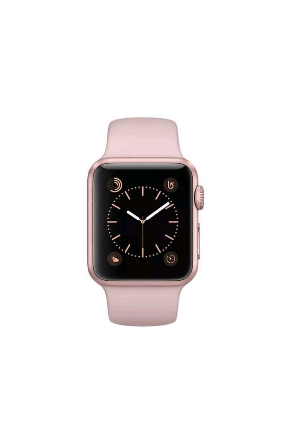 apple watch series 2   mnpl2b a 42mm rose gold aluminium