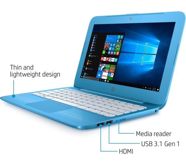 Hp Stream 11 Y050sa 11 6in Laptop Aqua Blue Intel